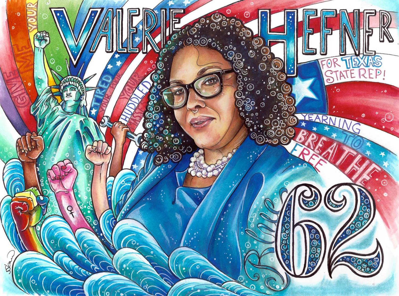 Valerie Hefner, Willoughby Avenue, The Five Fifths, KOLUMN Magazine, KOLUMN, African American Politics, Blacks in Politics, Black Vote, Vote Black